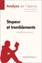 Stupeur et Tremblements d'Amélie Nothomb (Fiche de lecture) (ebook)