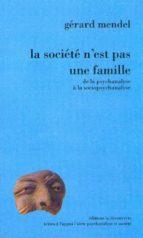 La société n'est pas une famille (ebook)