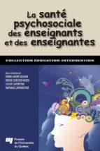 La santé psychosociale des enseignants et des enseignantes (ebook)