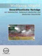 Unveröffentlichte Vorträge (ebook)