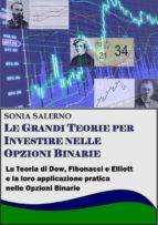 Le grandi teorie per investire nelle opzioni binarie. La teoria di Dow, Fibonacci e Elliott e la loro applicazione pratica nelle Opzioni bnarie (ebook)