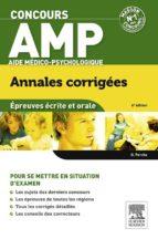 Concours AMP Aide médico-psychologique Annales corrigées (ebook)