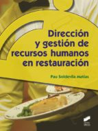 Dirección y gestión de recursos humanos en restauración (ebook)
