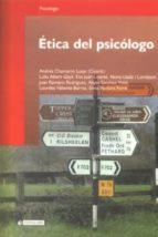 Ética del psicólogo (ebook)