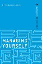 Managing Yourself (ebook)