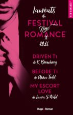 Coffret Lauréats du Festival New Romance 2016 (ebook)