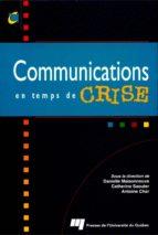 Communications en temps de crise (ebook)