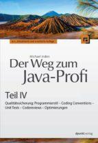Der Weg zum Java-Profi - Teil IV (ebook)