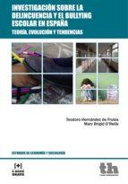 Investigación sobre la delincuencia y el bullying escolar en España