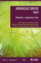 Aprendizaje servicio (ApS) (ebook)