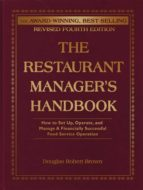The Restaurant Manager's Handbook (ebook)