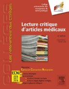 Lecture critique d'articles médicaux (ebook)