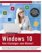 Windows 10 - Vom Einsteiger zum Könner (ebook)
