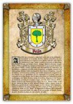 Apellido Velón / Origen, Historia y Heráldica de los linajes y apellidos españoles e hispanoamericanos