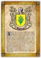 Apellido Espinoza / Origen, Historia y Heráldica de los linajes y apellidos españoles e hispanoamericanos
