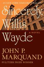 Sincerely, Willis Wayde (ebook)
