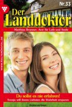 Der Landdoktor 33 - Heimatroman (ebook)