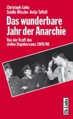 Das wunderbare Jahr der Anarchie (ebook)