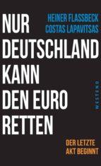 Nur Deutschland kann den Euro retten (ebook)