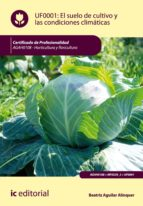 El suelo de cultivo y las condiciones climáticas. AGAH0108 (ebook)