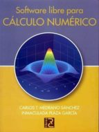 SOFTWARE LIBRE PARA CÁLCULO NUMÉRICO (ebook)