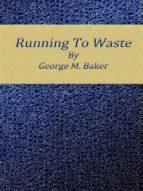 Running To Waste (ebook)