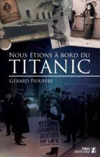 Nous étions à bord du Titanic (ebook)