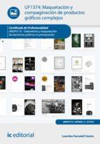 Maquetación y compaginación de productos gráficos complejos. ARGP0110  (ebook)