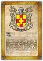 Apellido Monguió / Origen, Historia y Heráldica de los linajes y apellidos españoles e hispanoamericanos