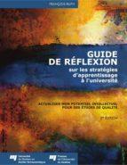 Guide de réflexion sur les stratégies d'apprentissage à l'université (ebook)