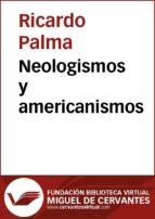 Neologismos y americanismos (ebook)