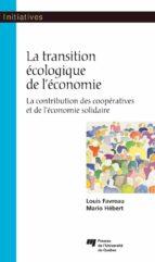 La transition écologique de l'économie (ebook)