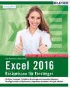 Excel 2016 - Basiswissen (ebook)