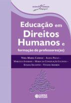 Educação em Direitos Humanos e formação de professores(as) (ebook)