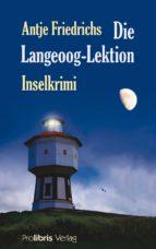 Die Langeoog Lektion (ebook)