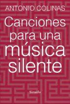 Canciones para una música silente (ebook)
