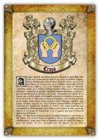 Apellido Cruza / Origen, Historia y Heráldica de los linajes y apellidos españoles e hispanoamericanos