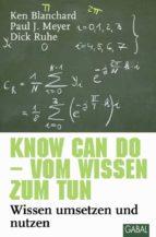 Know can do - vom Wissen zum Tun (ebook)