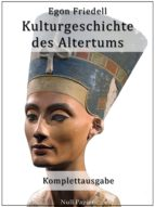 Kulturgeschichte des Altertums (ebook)