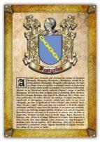 Apellido Basagañas / Origen, Historia y Heráldica de los linajes y apellidos españoles e hispanoamericanos