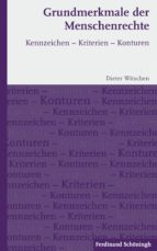 Grundmerkmale der Menschenrechte (ebook)