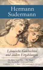 Litauische Geschichten und andere Erzählungen - Vollständige Ausgabe (ebook)