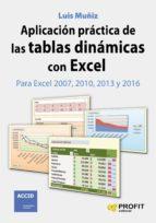 Aplicación práctica de las tablas dinámicas con Excel (ebook)