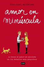 Amor en minúscula (ebook)