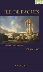 L'île de Pâques (ebook)