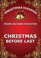 Christmas Before Last (ebook)