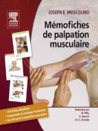 Mémofiches de palpation musculaire (ebook)