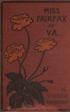 Miss Fairfax of Virginia (ebook)