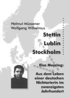 Stettin, Lublin, Stockholm (ebook)