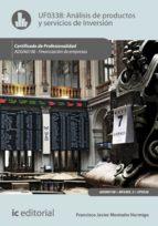 Análisis de productos y servicios de inversión. ADGN0108  (ebook)